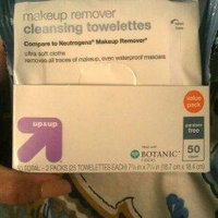 up & up Makeup Remover Cleansing Towelettes uploaded by abigail h.