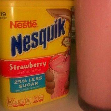 Photo of Nestle Nesquik Strawberry Flavored Powder Canister uploaded by Braelyn G.