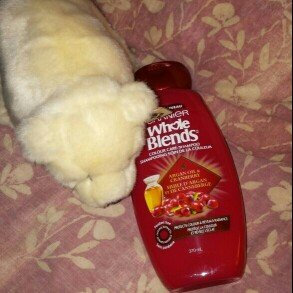 Photo of Garnier Whole Blends Argan Oil & Cranberry Extracts Color Care Shampoo uploaded by Tracy M.