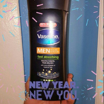 Photo of Vaseline® Men Healing Moisture Fast Absorbing Lotion uploaded by George C.