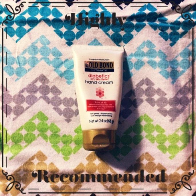 Gold Bond Ultimate Diabetics' Dry Skin Relief Hand Cream - 2.4 oz