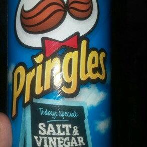 Photo of Pringles® Salt & Vinegar Potato Crisps uploaded by Cora P.