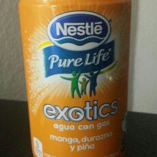 Photo of Nestlé® Pure Life® Exotics™ Mango Peach Pineapple Sparkling Water uploaded by Miree J.