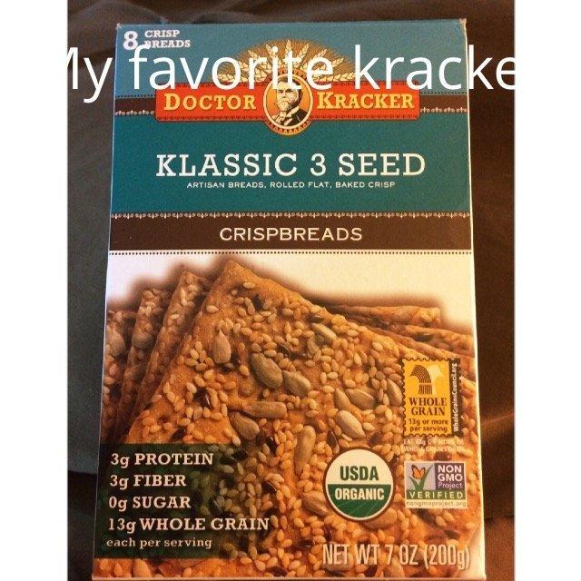 Doctor Kracker Klassic 3 Seed Snackers - 6 oz uploaded by Joanne C.