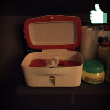 Photo of OXO Tot PerfectPull(TM) Wipes Dispenser with Weighted Plate- Orange uploaded by Amanda H.