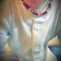 The Art of CureTM - SAFETY KNOTTED - Honey 1x1 - (Unisex) - Certified Baltic Amber Baby Teething Necklace Highest Quality Guaranteed- Anti Flammatory, Drooling & Teething Pain. Easy to Fastens with a Twist-in Screw Clasp Mothers Approved Remedies! uploaded by Jessie S.