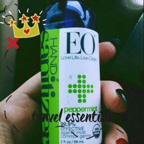Photo of Eo Hand Sanitizer Spray, Organic Peppermint uploaded by Amber O.