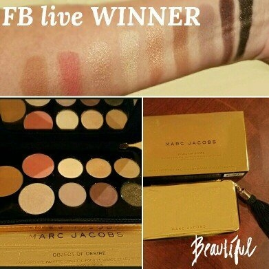 Marc Jacobs Beauty Object Of Desire Face and Eye Palette uploaded by Cindie H.