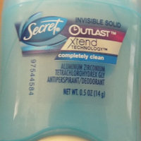 Secret Outlast Xtend Invisible Solid Completely Clean Antiperspirant/Deodorant uploaded by Magaly A.