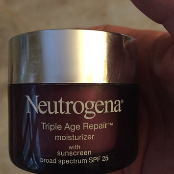 Neutrogena Triple Age Repair Moisturizer Broad Spectrum SPF 25 uploaded by Beth Ann C.