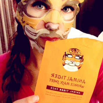 Photo of SNP Animal Tiger Wrinkle Mask Sheet uploaded by Emily C.
