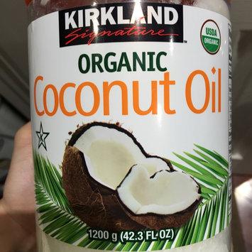 Photo of Kirkland Signature Organic Virgin Coconut Oil Cold Pressed Unrefined 42.3 Fl oz uploaded by Rae N.