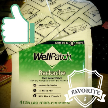 Photo of WellPatch Backache Pain Relieving Pads uploaded by Lori N.
