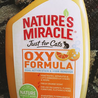 Nature's Miracle® Just For Cats Orange Oxy Powder uploaded by Sarah M.