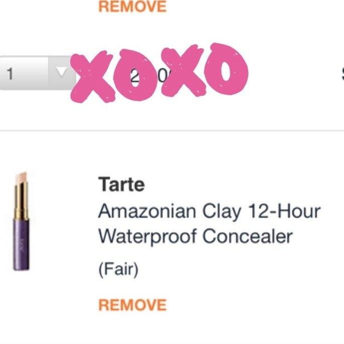 tarte Amazonian Clay Waterproof 12-Hour Concealer uploaded by Hannah L.