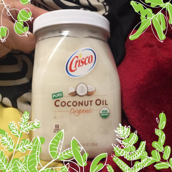Crisco® Pure Organic Coconut Oil 27 fl. oz. Jar uploaded by Frances B.