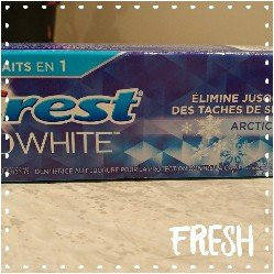 Photo of Crest 3D White Arctic Fresh Whitening Toothpaste uploaded by Erika N.