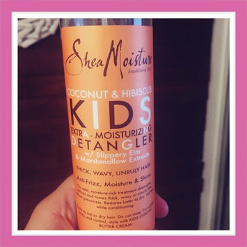 SheaMoisture Coconut & Hibiscus Kids Extra-Moisturizing Detangler uploaded by Elizabeth R.