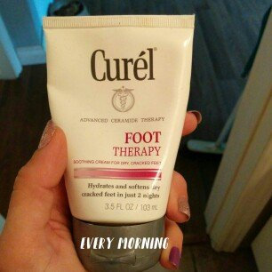 Photo of Curel Targeted Therapy Foot Therapy Cream uploaded by Deya W.