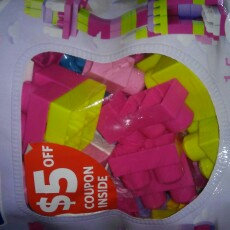 Photo of Mega Bloks First Builders Big Building Bag Pink - 80 pieces uploaded by Melissa S.