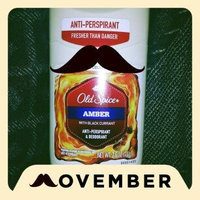 Old Spice Fresher Collection Invisible Solid Antiperspirant/Deodorant, Scent: Amber, 2.6 oz uploaded by Amber M.