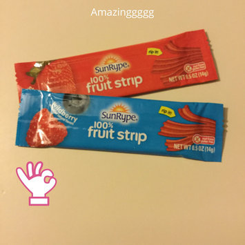 SunRype 100% Fruit Strip Wildberry All Natural uploaded by Suzy F.
