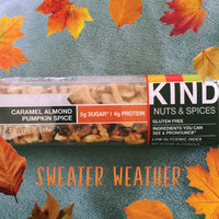 KIND  Nuts & Spices Madagascar Vanilla Almond Bar uploaded by Joi J.