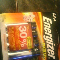 Energizer Max AA Alkaline Batteries, 4 pack uploaded by Autum E.