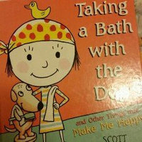 Taking a Bath with the Dog and Other Things that Make Me Happy uploaded by Rachael M.