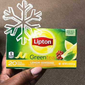 Photo of Lipton Lemon Ginseng Green Tea uploaded by Richelle C.