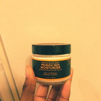 SheaMoisture African Black Soap Problem Skin Moisturizer uploaded by Alonipse H.