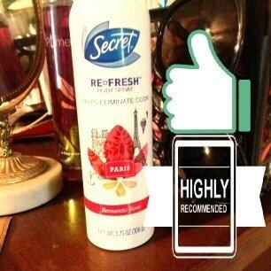 Secret Re-Fresh Body Spray, Paris Romantic Rose, 3.75 oz uploaded by nicole c.