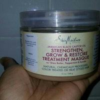 SheaMoisture Strengthen, Grow & Restore Treatment Masque, Jamaican Black Castor Oil, 12 oz uploaded by Adalgisa c.