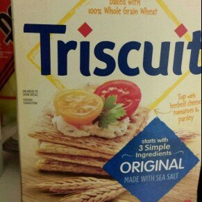 Photo of Nabisco Triscuit - Crackers - Baked Whole Grain Wheat Original uploaded by Amy M.