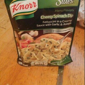 Knorr® Menu Flavors Cheesy Spinach Dip Pasta Sides™ 4.1 oz. Pouch uploaded by Jennifer H.