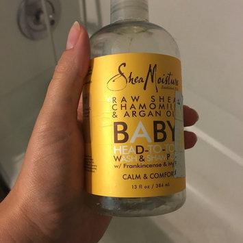 Photo of SheaMoisture Raw Shea Chamomile & Argan Oil Wash & Shampoo uploaded by Keeley C.