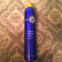 it's a 10 miracle finishing spray uploaded by Brooklynn B.