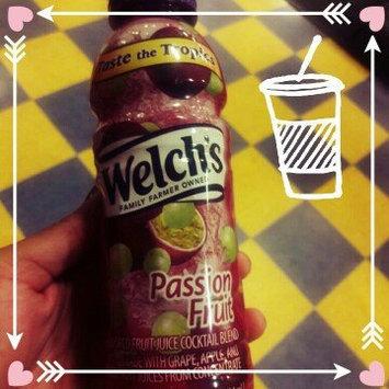 Welch's® Passion Fruit Flavored Fruit Juice Cocktail Blend 14 fl. oz. Bottle uploaded by Tameka H.