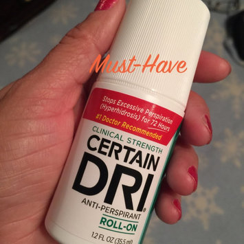 Photo of Certain Dri Clinical Strength Anti-Perspirant Roll-On uploaded by Wendy C.