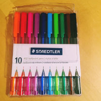 Staedtler Ballpoint Pens, Medium Point, Assorted Colors. 10/Pack uploaded by Shannon C.