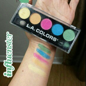 L.A. Colors 5 Color Metallic Eyeshadow, Tease, .26 oz uploaded by Jennifer S.
