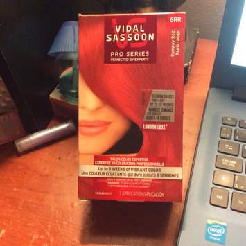 Vidal Sassoon Pro Series Hair Color, 6RR Runway Red, 1 kit uploaded by Chispa L.