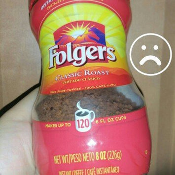 Folgers Classic Roast Instant Coffee Crystals uploaded by lupe b.