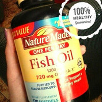 Nature Made Ultra Omega-3 Fish Oil 1400 mg Softgels - 90 Count uploaded by María R.
