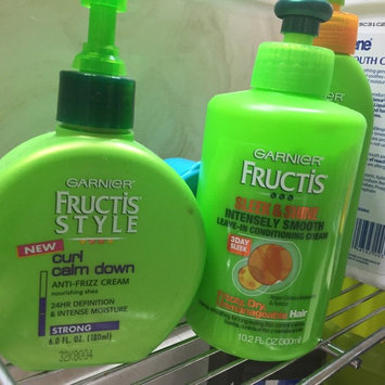 Photo of Garnier Fructis Style Curl Calm Down Anti-Frizz Cream uploaded by Angela K.