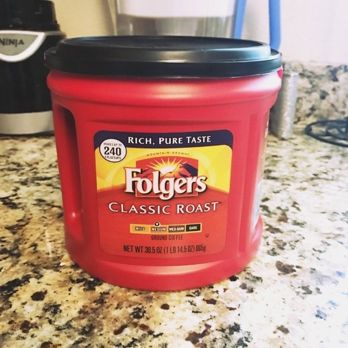 Folgers Coffee Classic Roast uploaded by Isabell B.