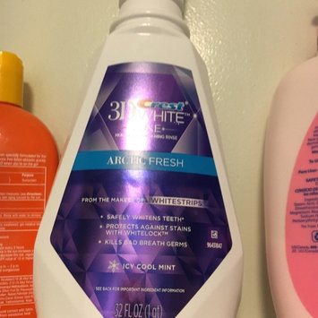 Photo of 3D White Crest 3D White Luxe Diamond Strong Mouthwash, 473 mL uploaded by Brianna C.