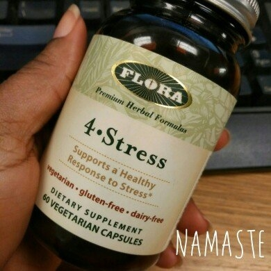 Flora - 4 Stress - 60 Vegetarian Capsules uploaded by Myra H.