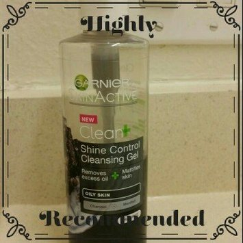 Garnier Skinactive Clean + Shine Control Cleansing Gel uploaded by Rosa E.