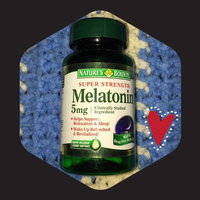 Nature's Bounty Melatonin Super Strength 5mg Sleep Aid Dietary Suppelement Rapid Release Liquid Softgels - 60 CT uploaded by Léage Marie M.